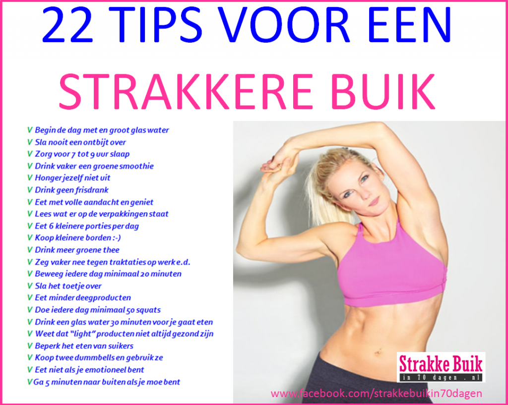 strakke buik workout