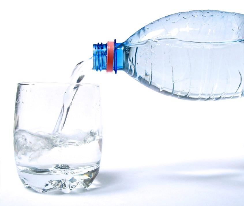 glas water drinken